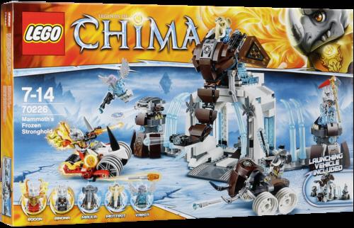 Lego Chima 70226 Mamuti ledova pevnost