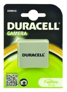 DURACELL Baterie - DR9618 pro Fujifilm NP-40, šedá, 650 mAh, 3.7V