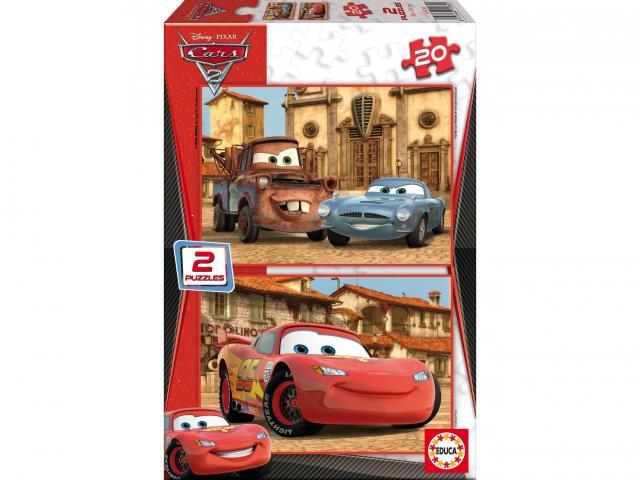Puzzle Cars 2 2x20 dílků