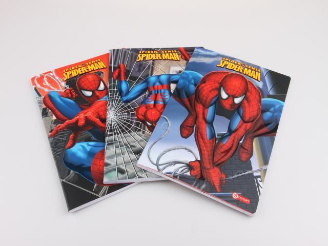 Školní sešit A4 Spiderman linkovaný
