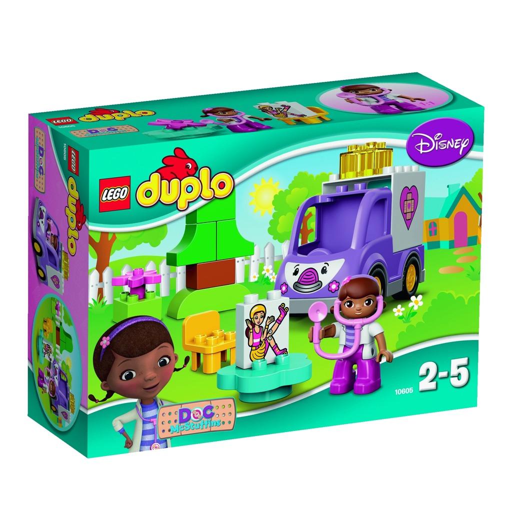 LEGO DUPLO Doktorka Plyšáková: Sanitka Rosie
