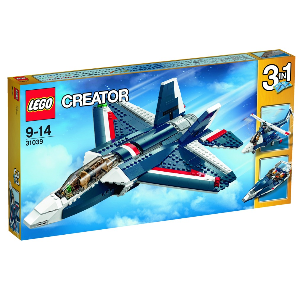 LEGO Creator Stíhačka Blue Power