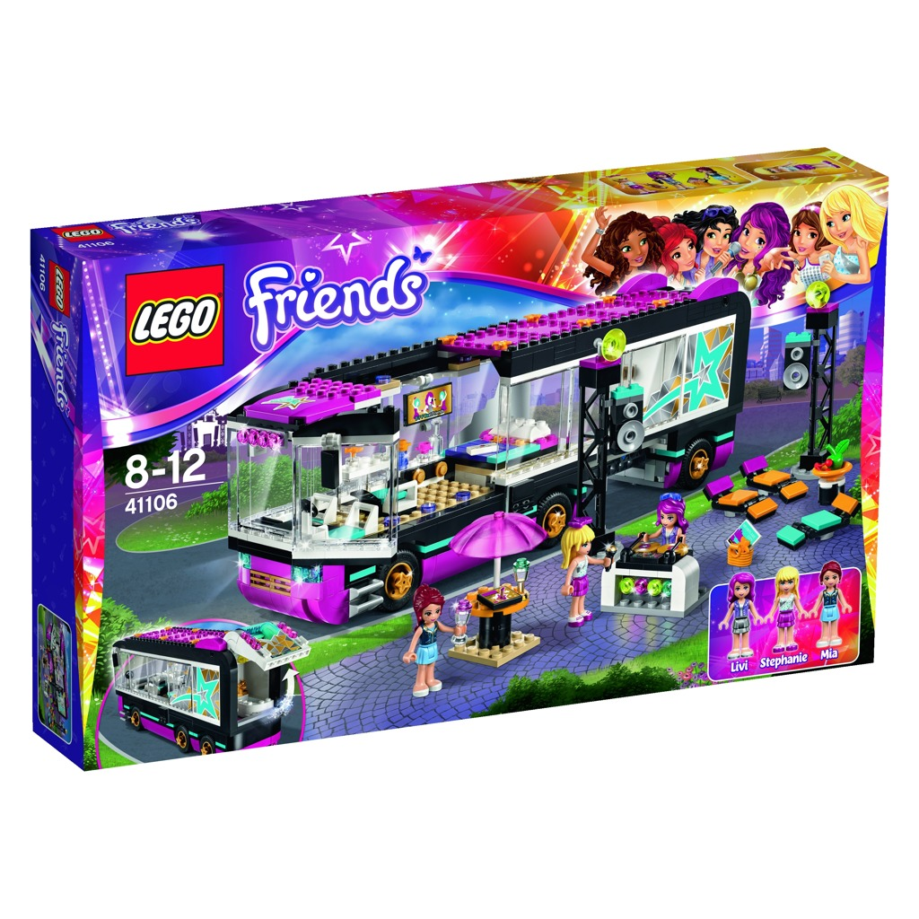 LEGO Friends Autobus pro turné popových hvězd