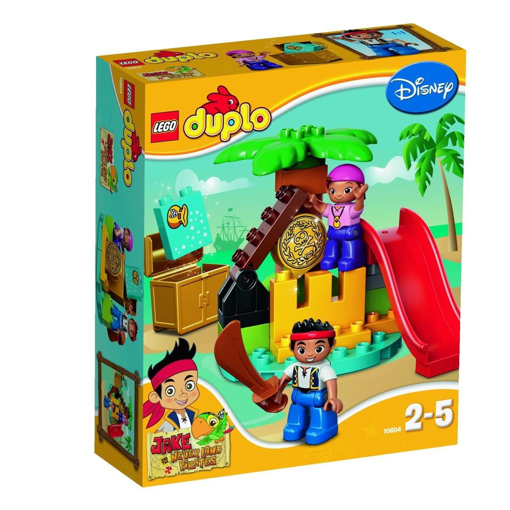 LEGO DUPLO Jake a piráti ze Země Nezemě: Ostrov pokladů
