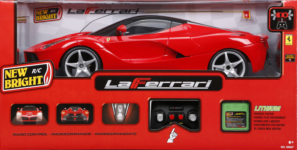 RC auto Ferrari
