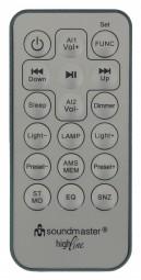 Kuchynské rádio Soundmaster BT 1308SI, s Bluetooth