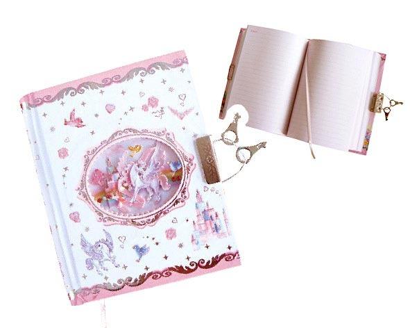 Zápisník se zámkem