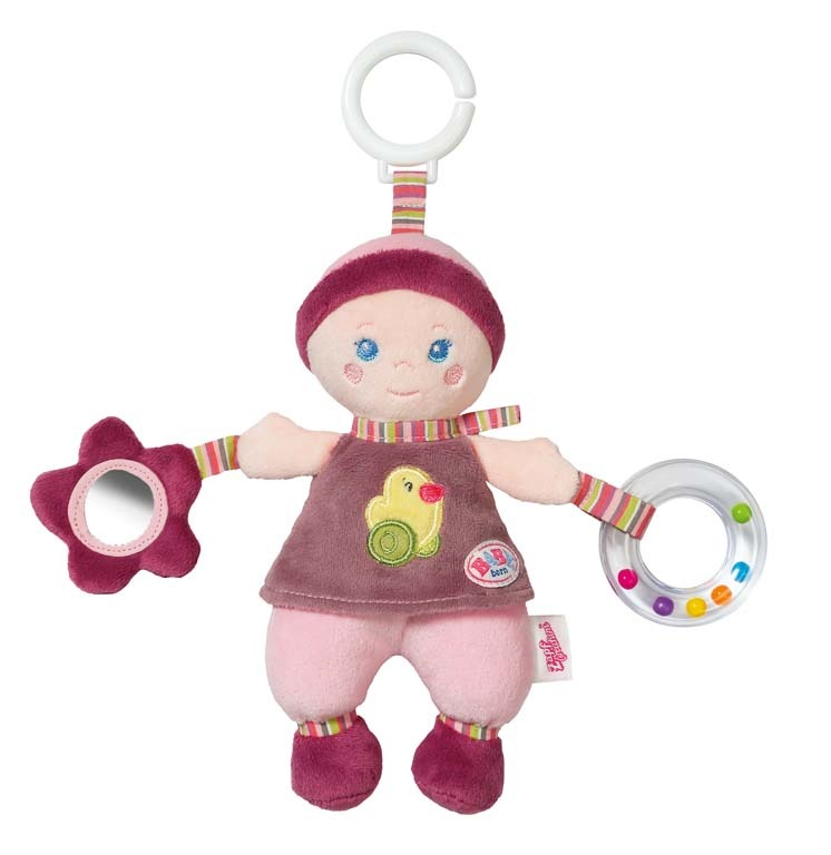BABY born® for babies Závěsná panenka s aktivitami pro mimin