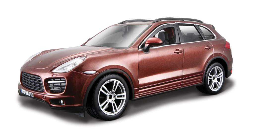 Bburago KIT Porsche Cayenne Turbo, 1:24