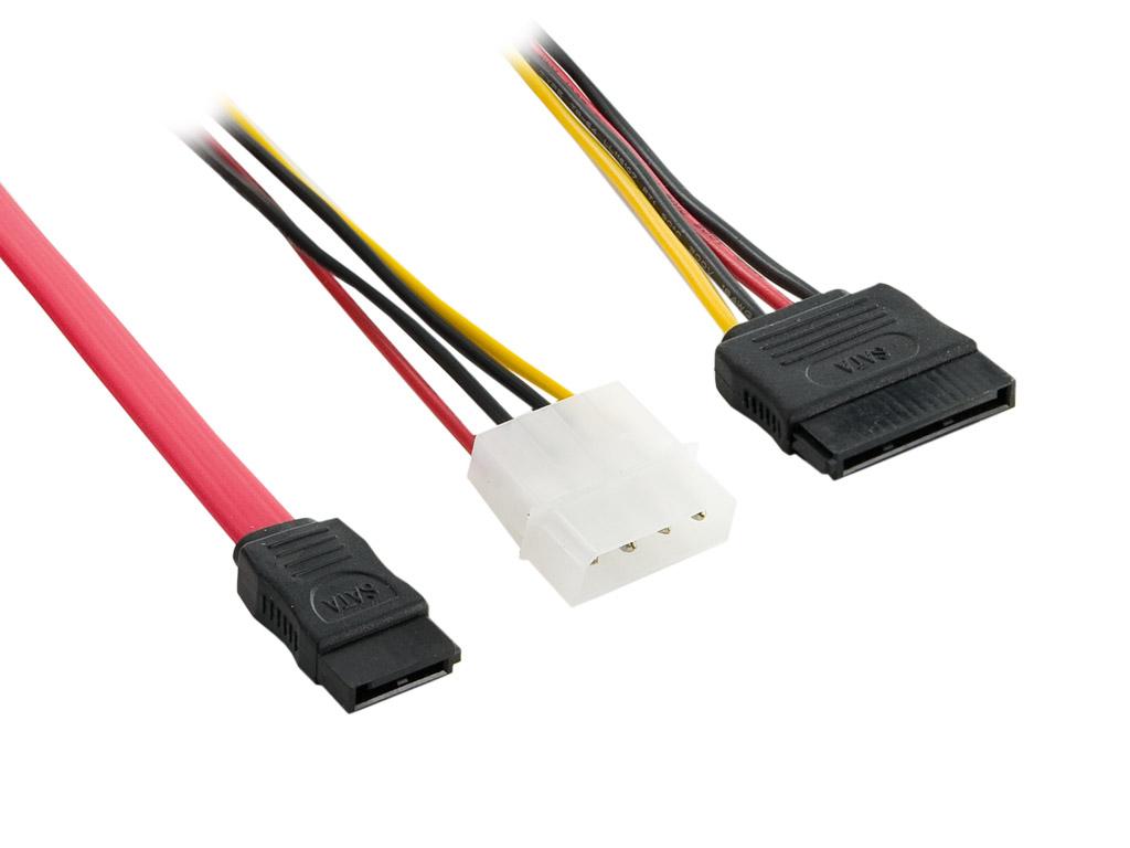 4World Kabel datový serial ATA + napájecí