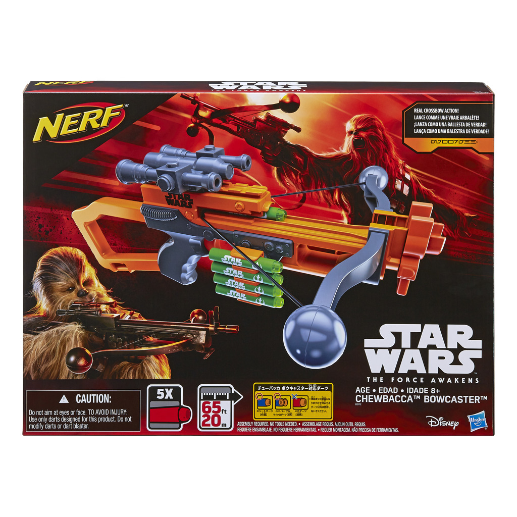 Nerf N-Strike Elite Star Wars E7 Chewbacca Bowcaster