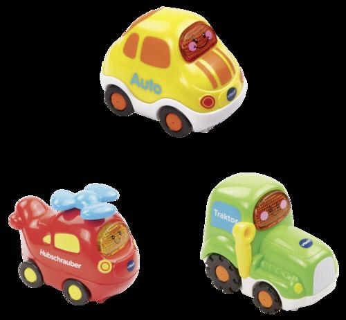 VTech Tut Tut Baby Flitzer Set11 (vrtulnik, auto, traktor)