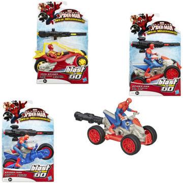 Spiderman akční figurka s vozidlem