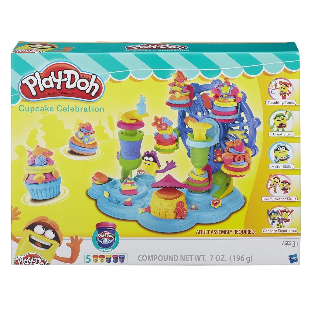 Play-Doh dortíčková oslava