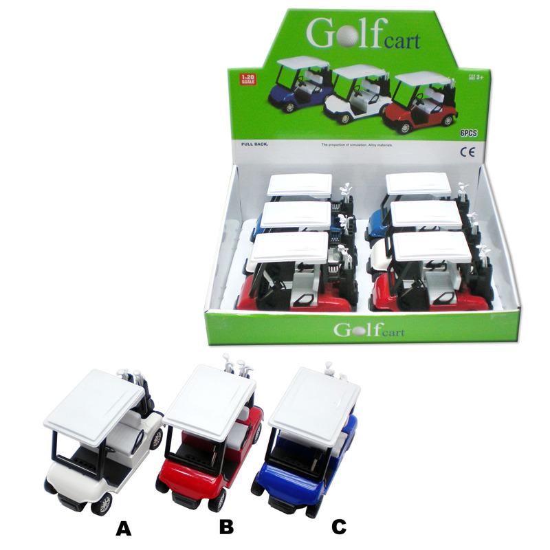 Kovový model - Golfový vozík