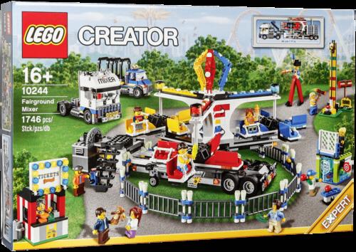 Lego 10244 Creator Jahrmarkt Fahrgeschäft