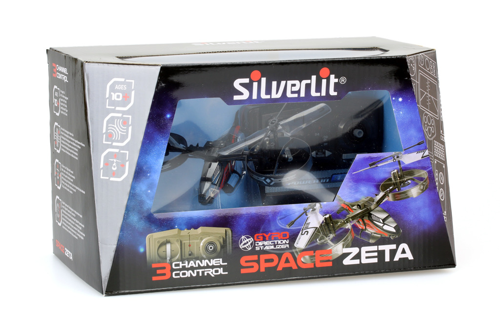 R/C Vrtulník vesmírný Space Zeta