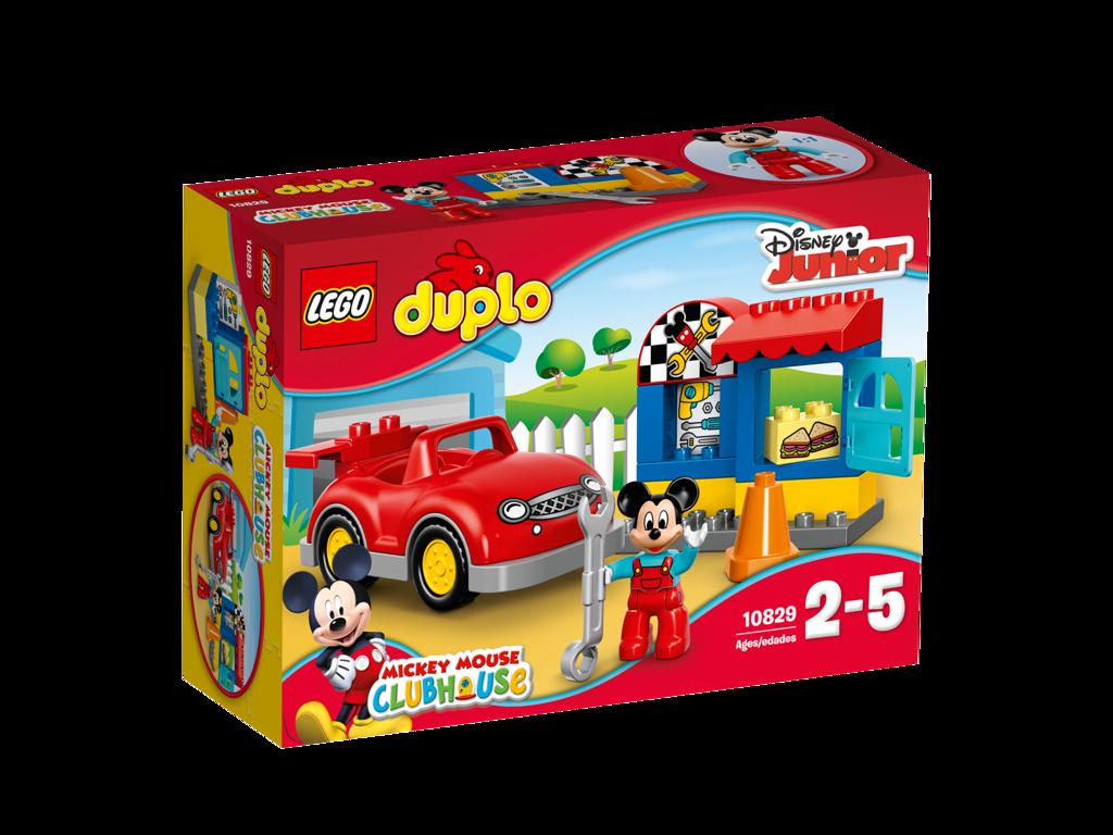 LEGO® DUPLO® Mickeyho dílna