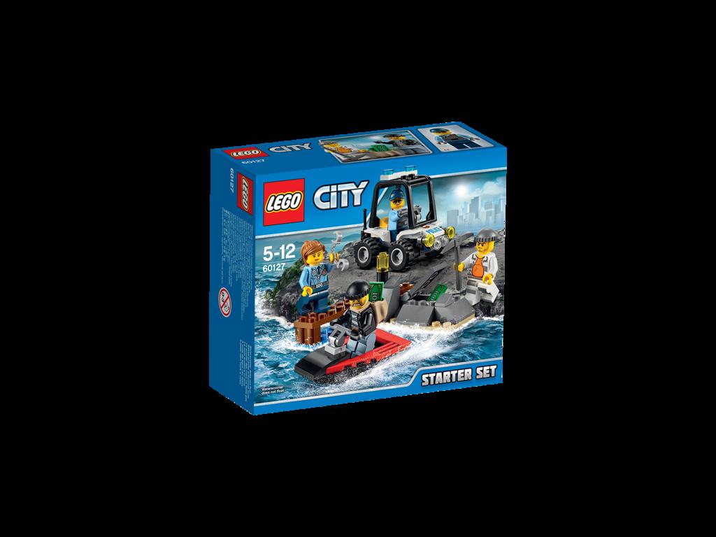 LEGO City Vězení na ostrově - Startovací sada