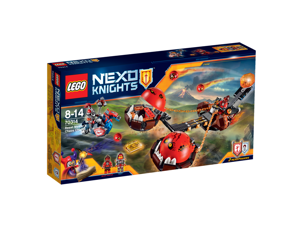 Lego Nexo Knights 70314 Beast Master`s Chaos Chariot