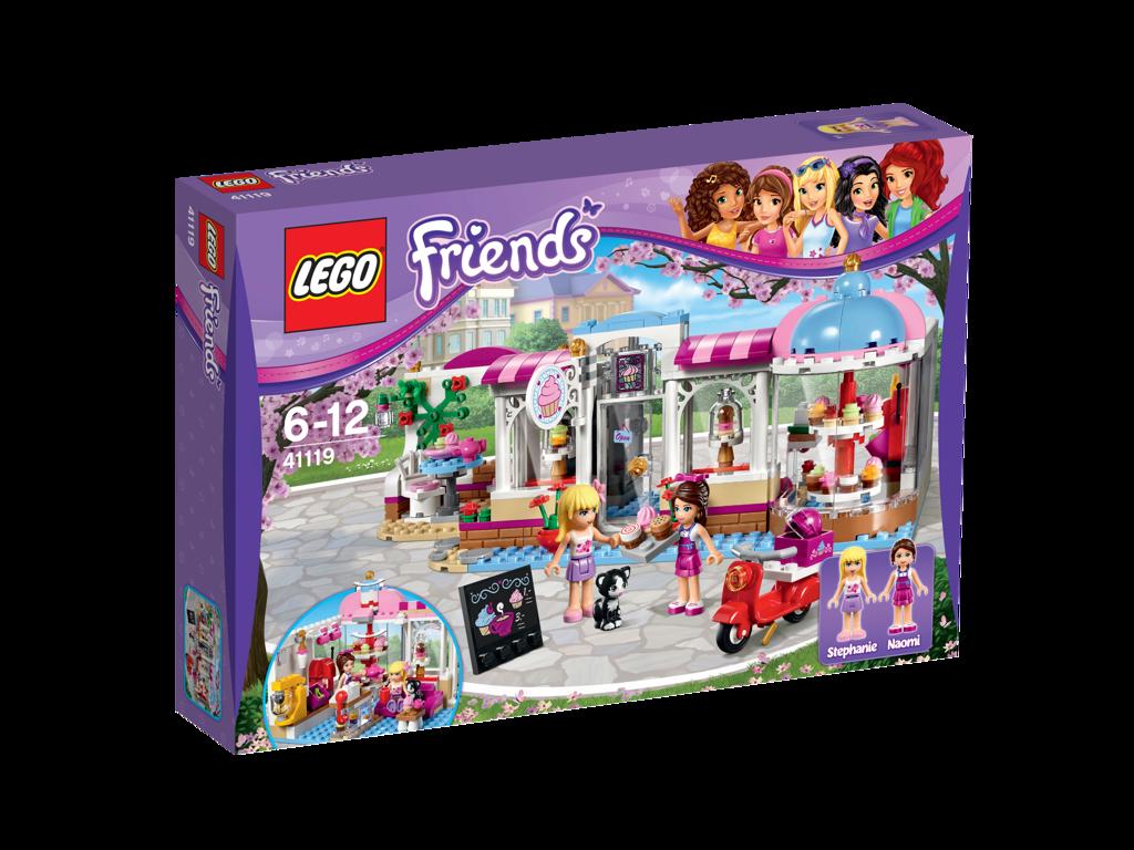LEGO Friends 41119 Heartlake Cupcake-Cafe