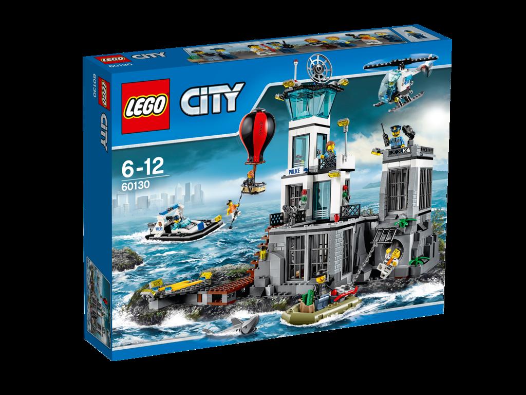 LEGO City Vězení na ostrově