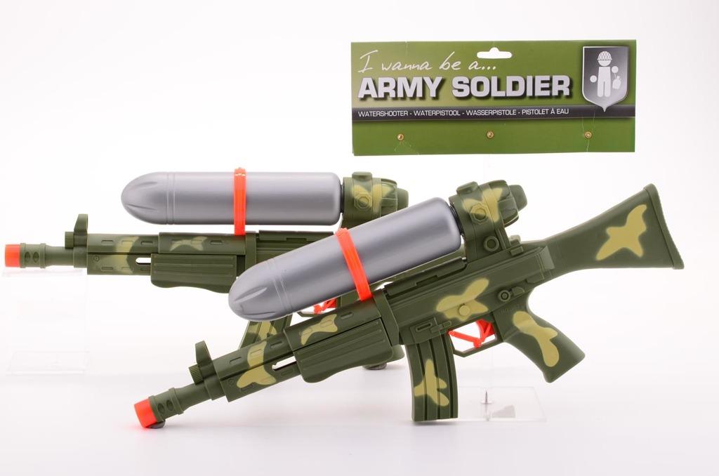Vojenská vodní mega pistole 50 cm