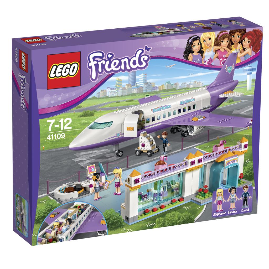 LEGO FRIENDS Letiště v městečku Heartlake