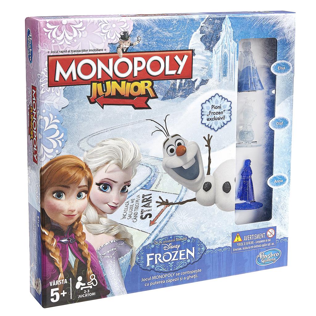 Společenská hra Monopoly junior Frozen