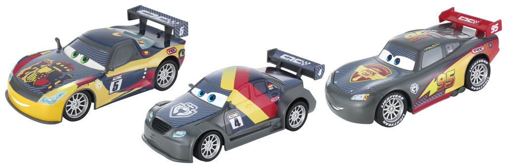 Cars carbon racers velké auto