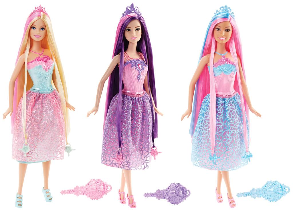 Barbie dlouhovláska