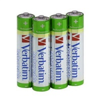 VERBATIM baterie nabíjecí AA 2450mAh 4pck/BAL