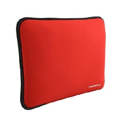 """Modecom neoprenový obal BROOKLYN S1 na notebooky velikosti 16""""-18"""", červený"""
