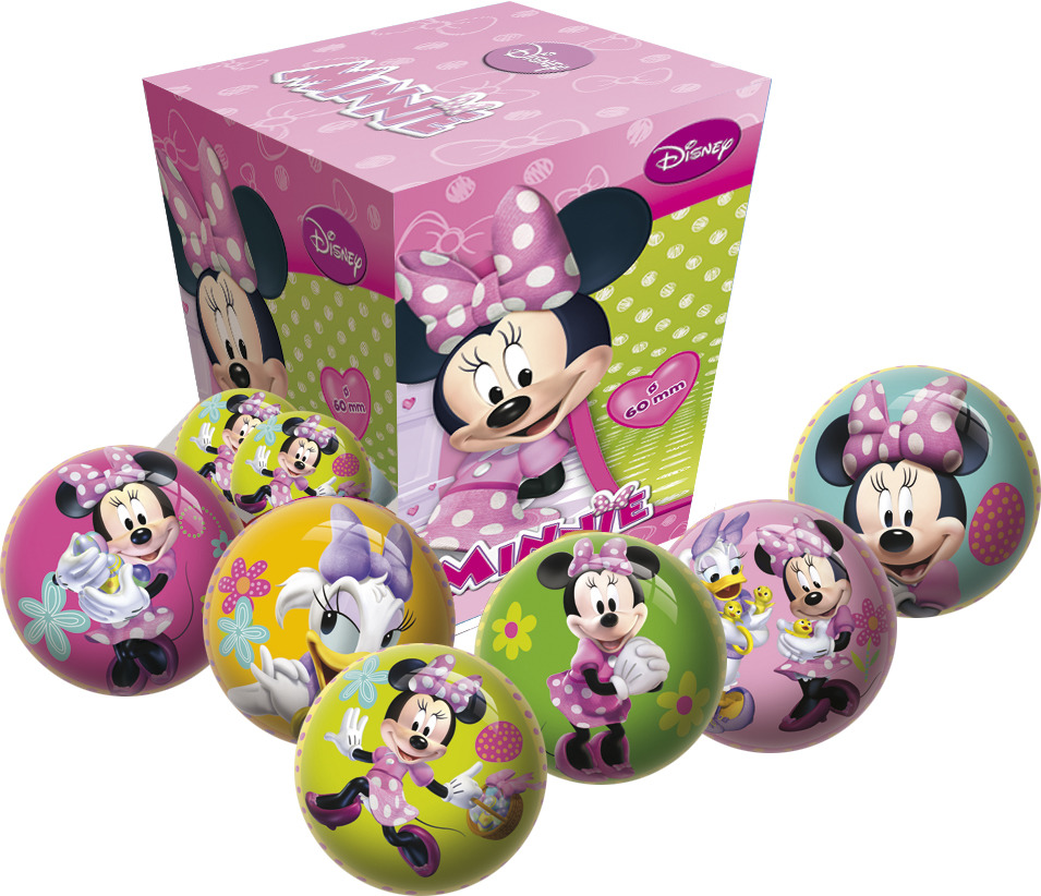 Míč Disney Minnie 6 cm