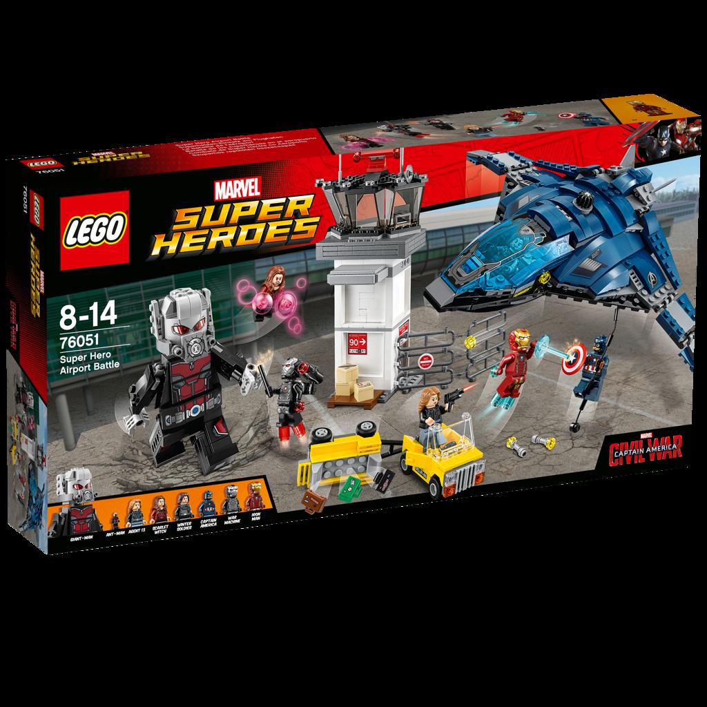 LEGO Super Heroes Občanská válka super hrdinů