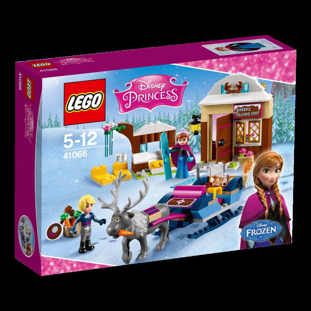LEGO Disney Princess 41066 Anna and Kristoff`s Sleigh Adventure