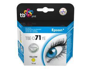 Ink. kazeta TB kompatibilní s Epson T0714 Yellow