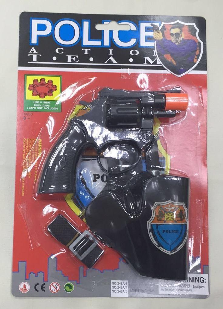 Policejní pistole na kapslíky