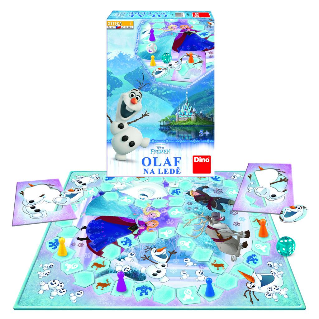 Hra:Olaf na ledě