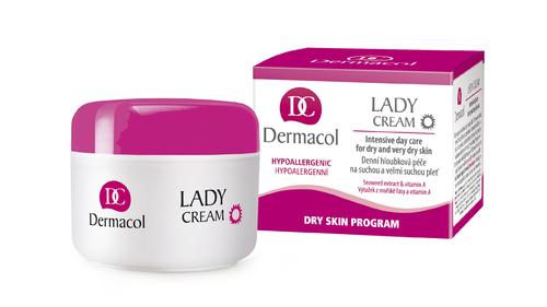 Denní krém na suchou pleť Dermacol Lady Cream-day 50ml
