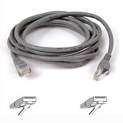 Belkin kabel PATCH UTP CAT5e 2m šedý, bulk Snagless