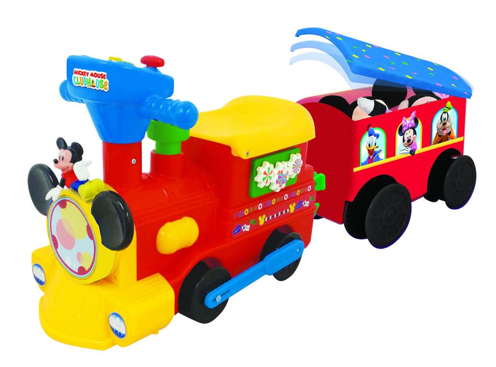 Vláček pro děti Mickey Mouse