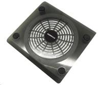 "OMEGA chladič pod notebook SNOWBALL, pro notebooky do 15"", 14cm ventilátor, 1x USB port, černý"
