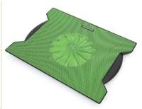 """OMEGA chladič pod notebook CHILLY, pro notebooky 10 - 15,6"""", 16cm ventilátor, 4x USB port, zelený"""