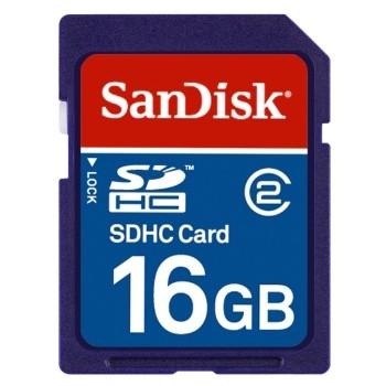 Paměťová karta Sandisk SDHC 16GB class 4