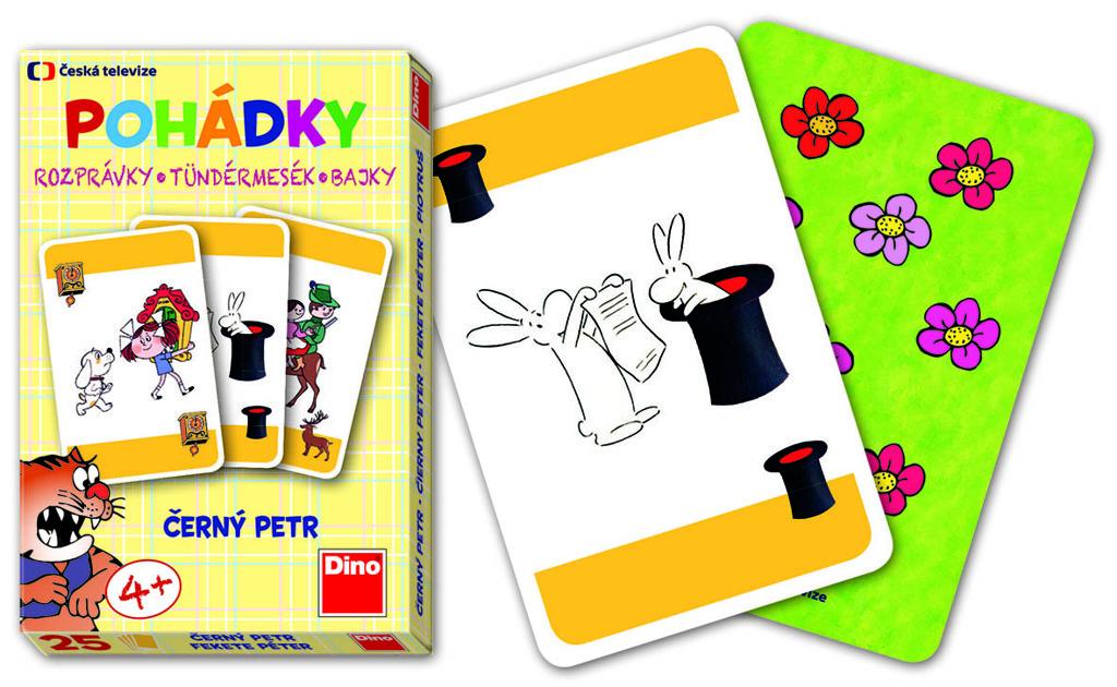 Karty Černý Petr - Pohádky