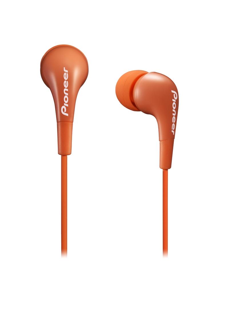 Pioneer špuntová sluchátka oranžová