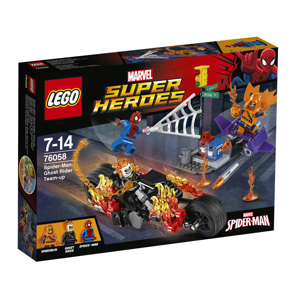 Lego Super Heroes Spiderman: Ghost Rider vstupuje do týmu