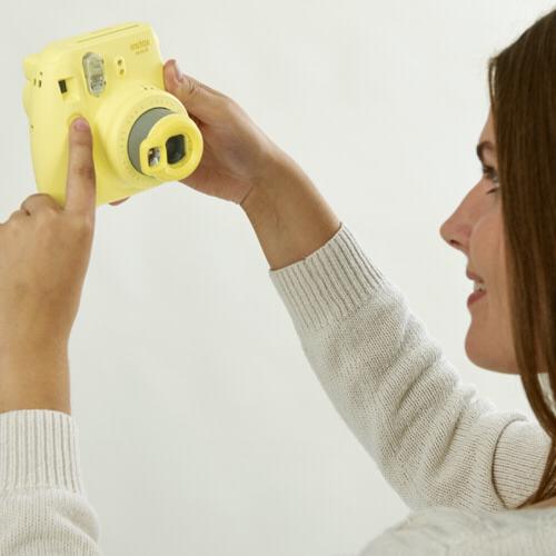 Fujifilm Instax Mini 8 selfie lens - blue