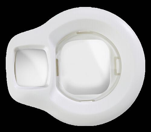 Fujifilm Instax Mini 8 selfie lens - white